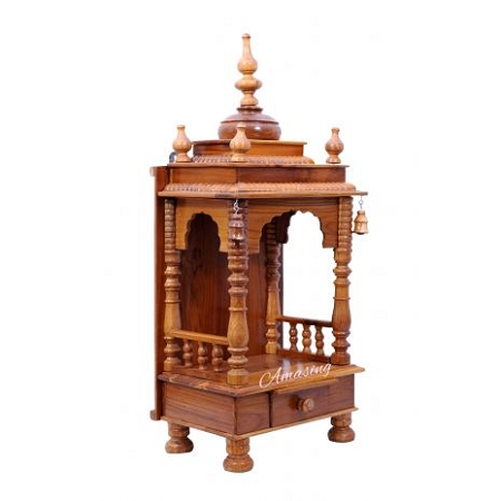 SKTA-Teak Wood Pooja Mandir to1