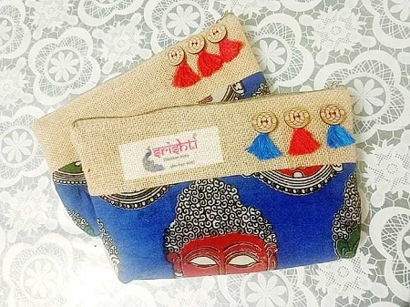 Jute Pouch-Assorted USA & CANADA