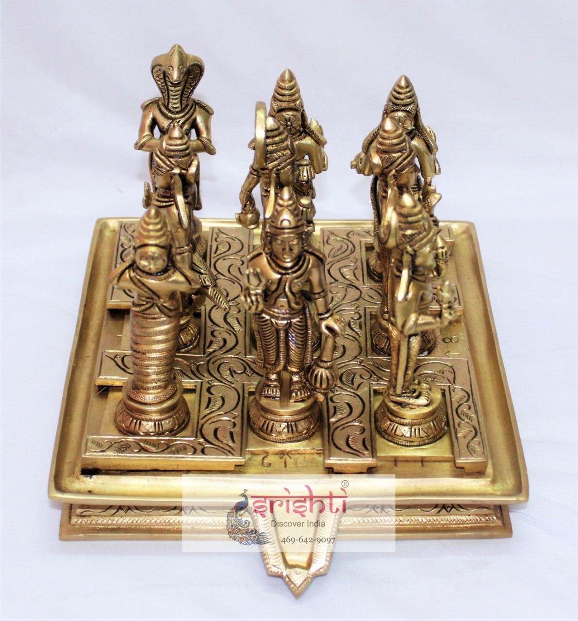 SSBU-Brass Navagraha Set