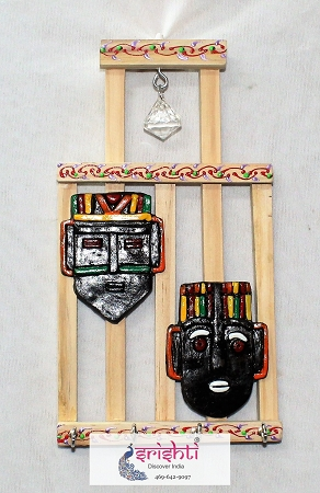 SMHD-Wooden Key Holder with 2 Face USA & CANADA