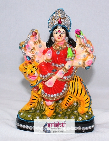SNDP-Durga Idol-6.5 Inches USA & CANADA