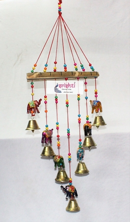 SMHD-Elephant Bell Door Hanging  USA & CANADA