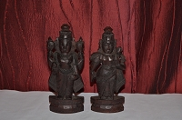 SNDP-Marapachi Doll Set (Lord Venkateshwara and Thayar) USA & CANADA