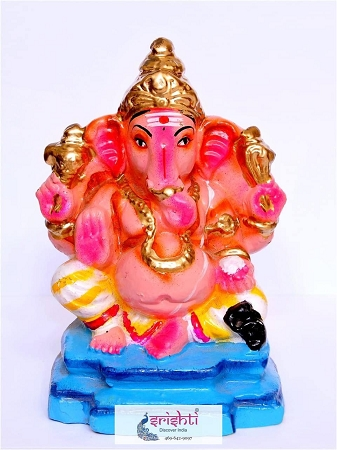 Eco Friendly Ganesha Clay - Small USA & CANADA