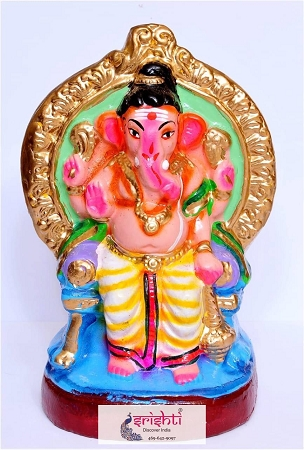 Eco Friendly Ganesha Clay 001 USA & CANADA