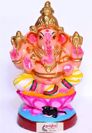 Eco Friendly Ganesha Clay 003 USA & CANADA