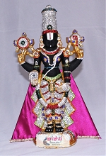 Lord Venkateswara Stone work (Medium) USA & CANADA