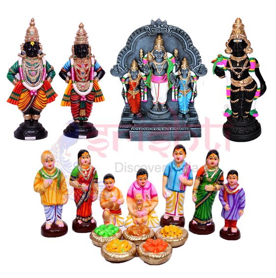 All Golu dolls