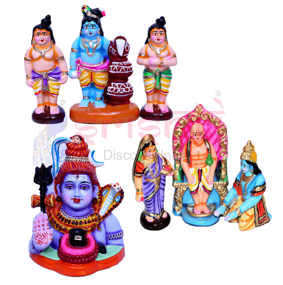 Navarathri Clay Dolls