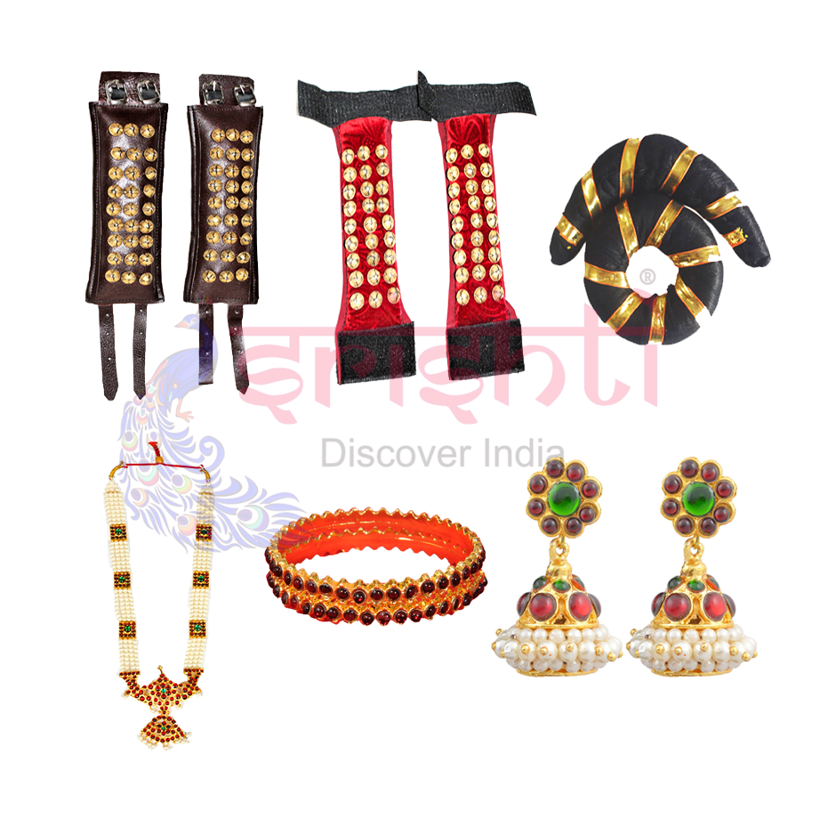Bharathanatiyam Dresses and Accessories