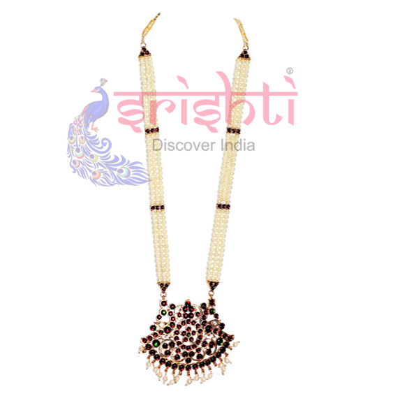SRBA-Dance Traditional Pearl Necklace-S01-A