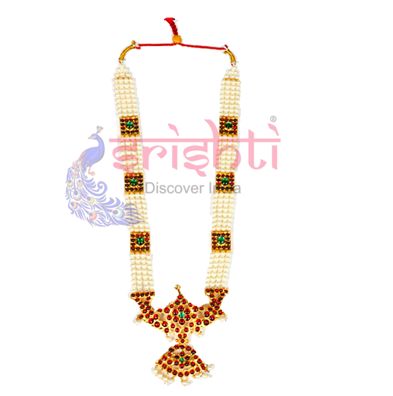 SRBA-Dance Traditional Pearl Necklace-S01