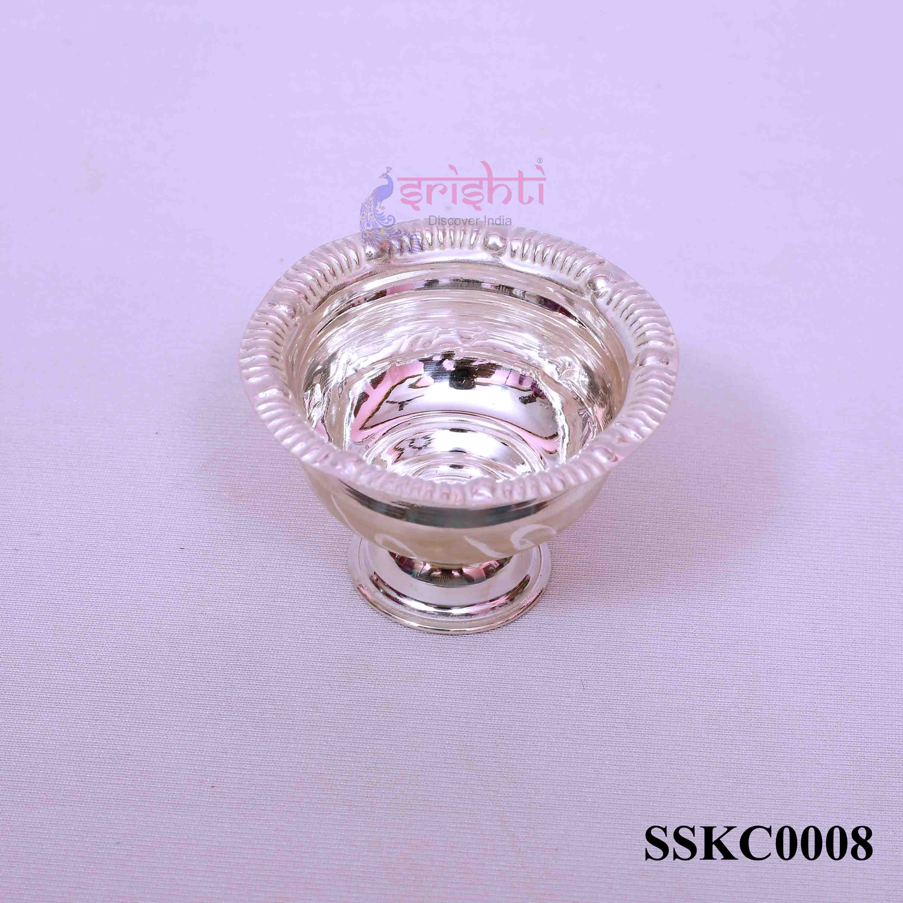 SSSD-Pure Silver Chandan Cup-12 Gms