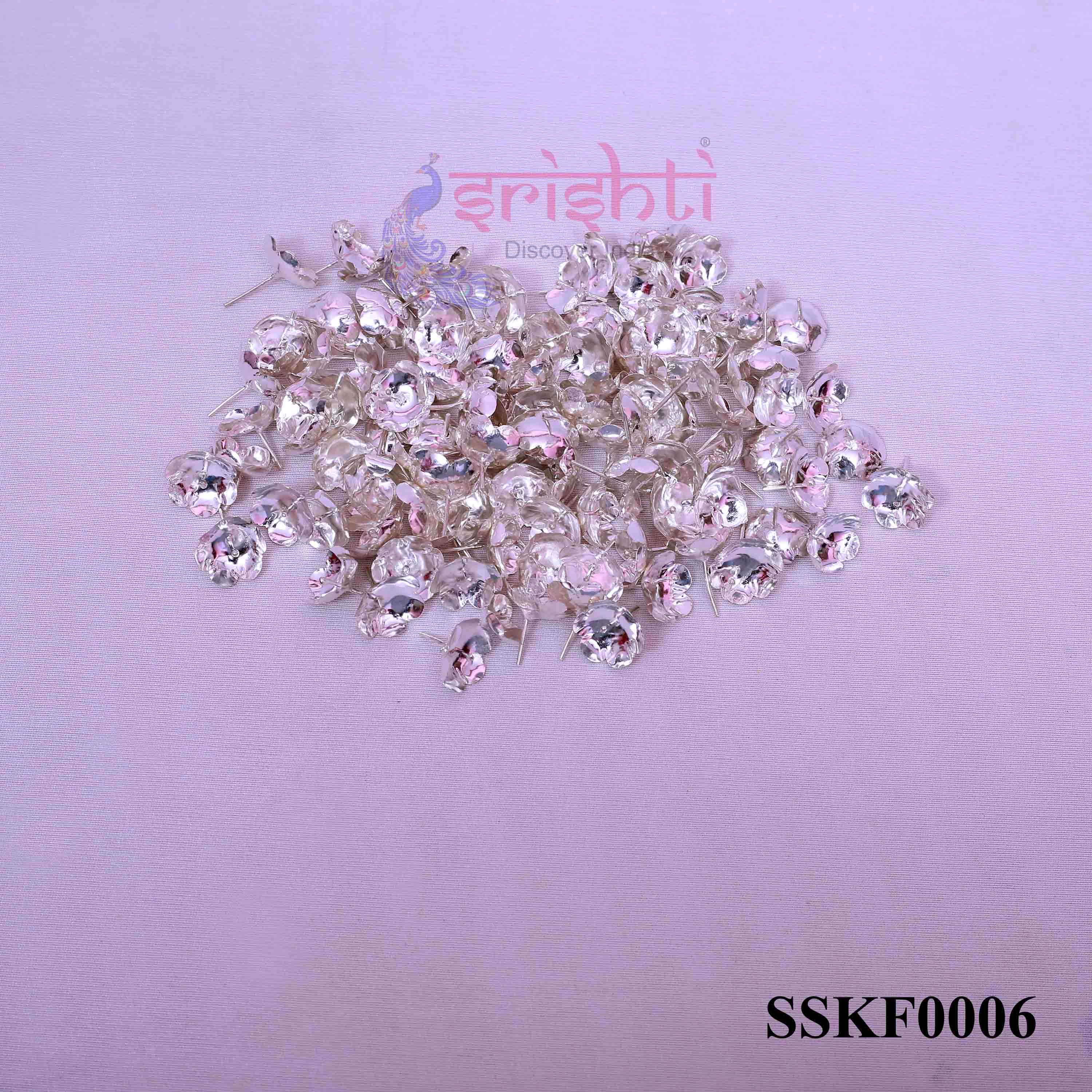 SSSD-Pure Silver Archana Flowers-Pack of 110-M05
