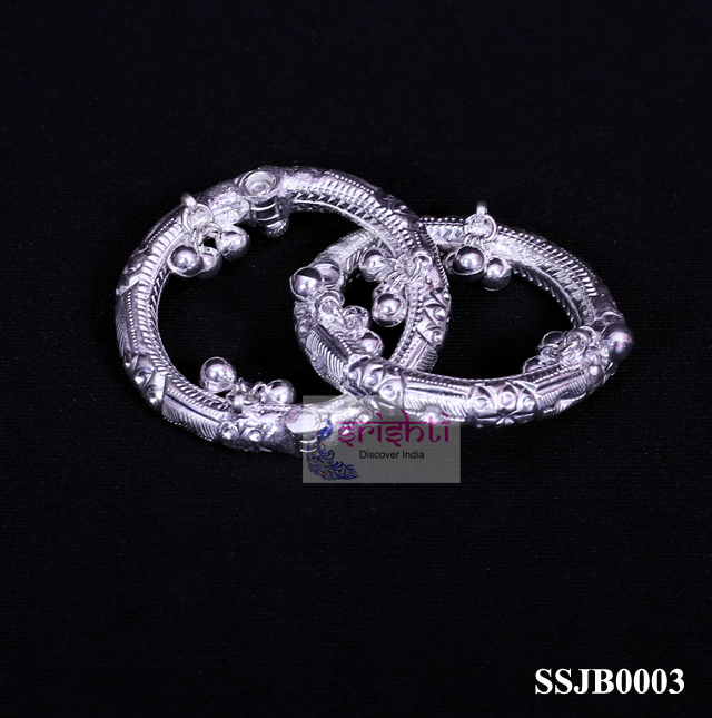 SSSG-Pure Silver Baby Anklet Pair-M01