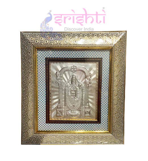 SSSD-Silver Balaji Designer Photo Frame-11.5 Inches