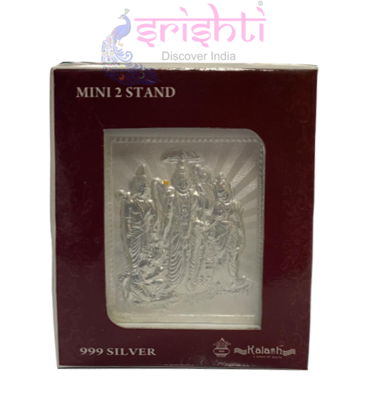 SSSD-Silver Acrylic Stand Ramar Set-2.5 Inches