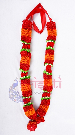 SCSA-Artificial Garland-Orange with Red USA & CANADA
