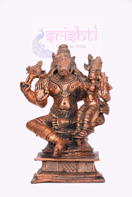 SSBU-Antique Copper Lakshmi Hayagrivar