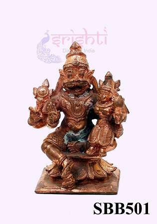 SSBU-Copper Lakshmi Narasimhar-2.8 Inches USA & CANADA