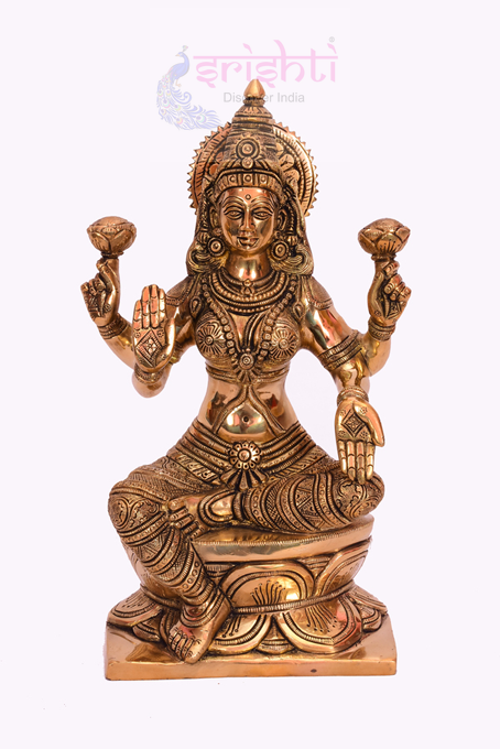 SSBU-Brass Lakshmi-13 Inches USA & CANADA