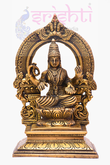 SSBU-Brass Lakshmi-7 Inches USA & CANADA