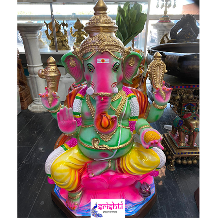 SGFP-Lord Ganesha Statue-36 Inches-M02