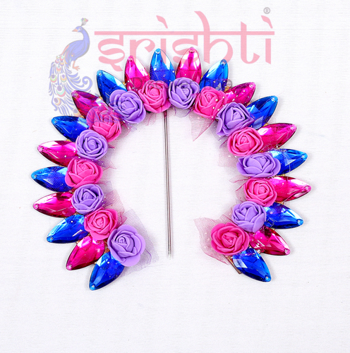 SMMC-Varalakshmi Decorative Crown-Assorted Color-M02