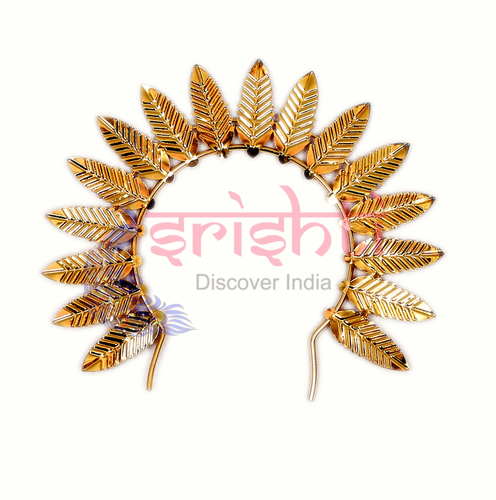 SMMC-Varalakshmi Decorative Crown Metal Gold Plated-M01