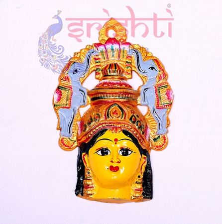 SMMC-Varalakshmi Amman Face with Elephant Crown-11 Inches USA & CANADA