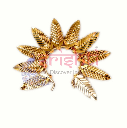SMMC-Varalakshmi Decorative Crown Metal Gold Plated-M03 USA & CANADA