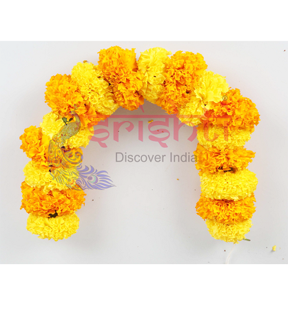 SRFU-Marigold String Fresh (Yellow & Orange)