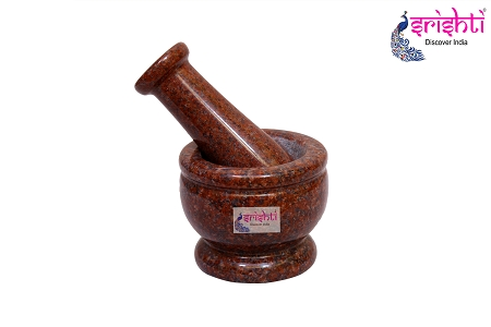 SBSS-Stone Mortar & Pestle 4 Inches-M06 USA & CANADA
