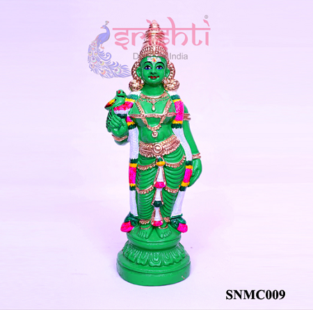 SNCD-Meenakshi Green-10 Inches-M01
