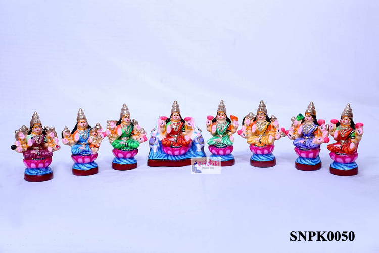 SNPD-Ashtalakshmi Set-8 Inches