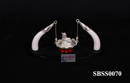 SSSD-Pure Silver Jula With Krishna USA & CANADA