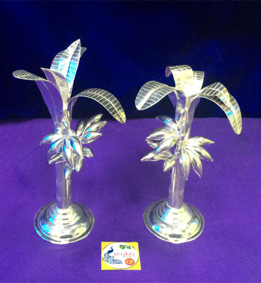 SSSD-Pure Silver Banana Tree with Silver Banana-M03