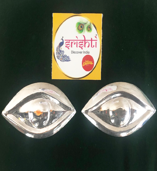 SSSD-Pure Silver Kanmalar Pair-M04