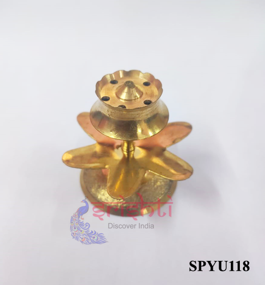 SPAU-Brass Agarbathi Stand Model 1