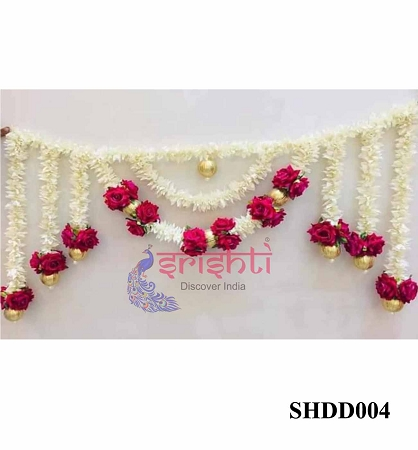 SHDP-Artificial Red Rose Entry Door Hanging USA & CANADA