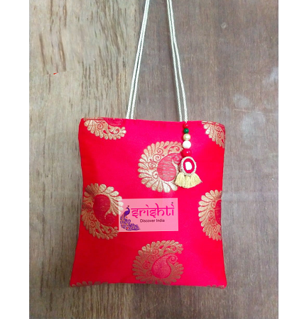 SJBK-Traditional Potli Bag with Thread Handle USA & CANADA