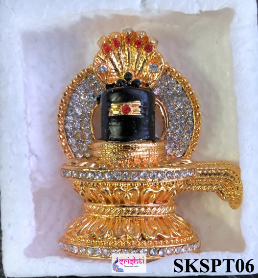 SMRG-Shiva Lingam with Stone Work-M02