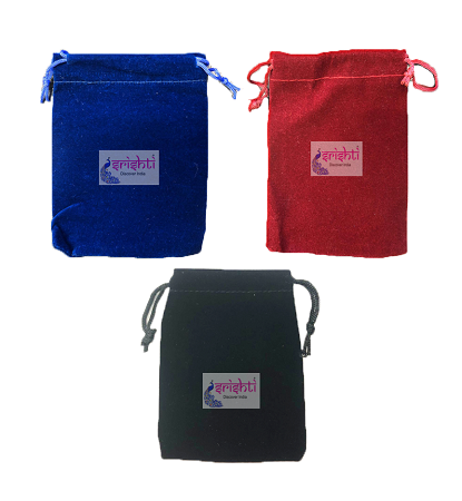 SJBK-Assorted Velvet Potli Bags-Pack of 10 USA & CANADA