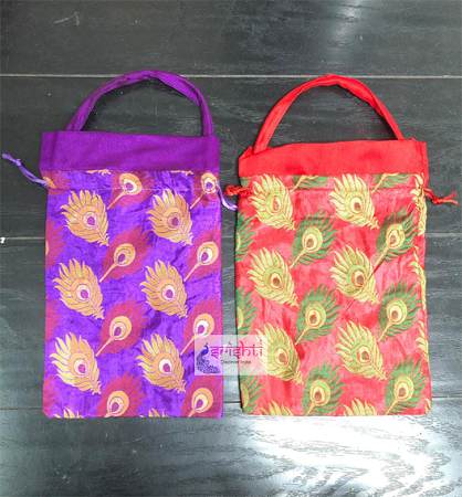 SJBK-Assorted Gift Wrap Potli Bag-M01 USA & CANADA