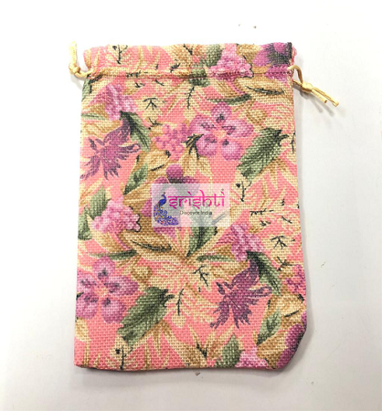 SJBK-Flower Design Potli Bag USA & CANADA