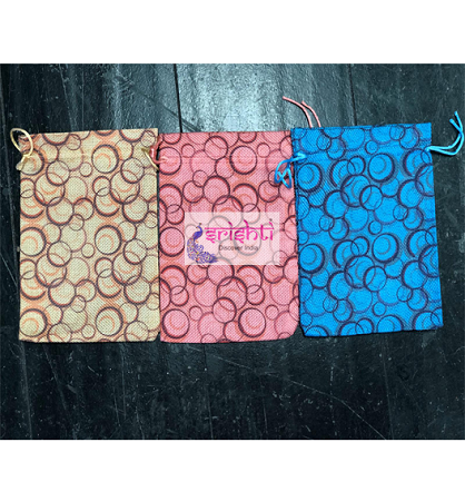 SJBK-Assorted Gift Wrap Potli Bag-M02 USA & CANADA