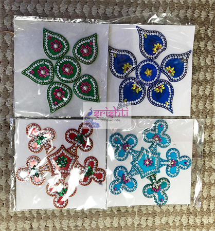 SRGC-Assorted Rangoli Sticker-M02