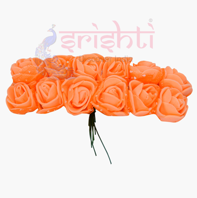 SCSA-Artificial Rose String-Orange USA & CANADA