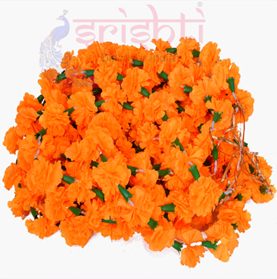 SCSA-Artificial Flower Strings-Orange-M02 USA & CANADA