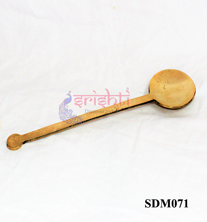 SSDN-Brass Serving Spoon/Karandi-S01